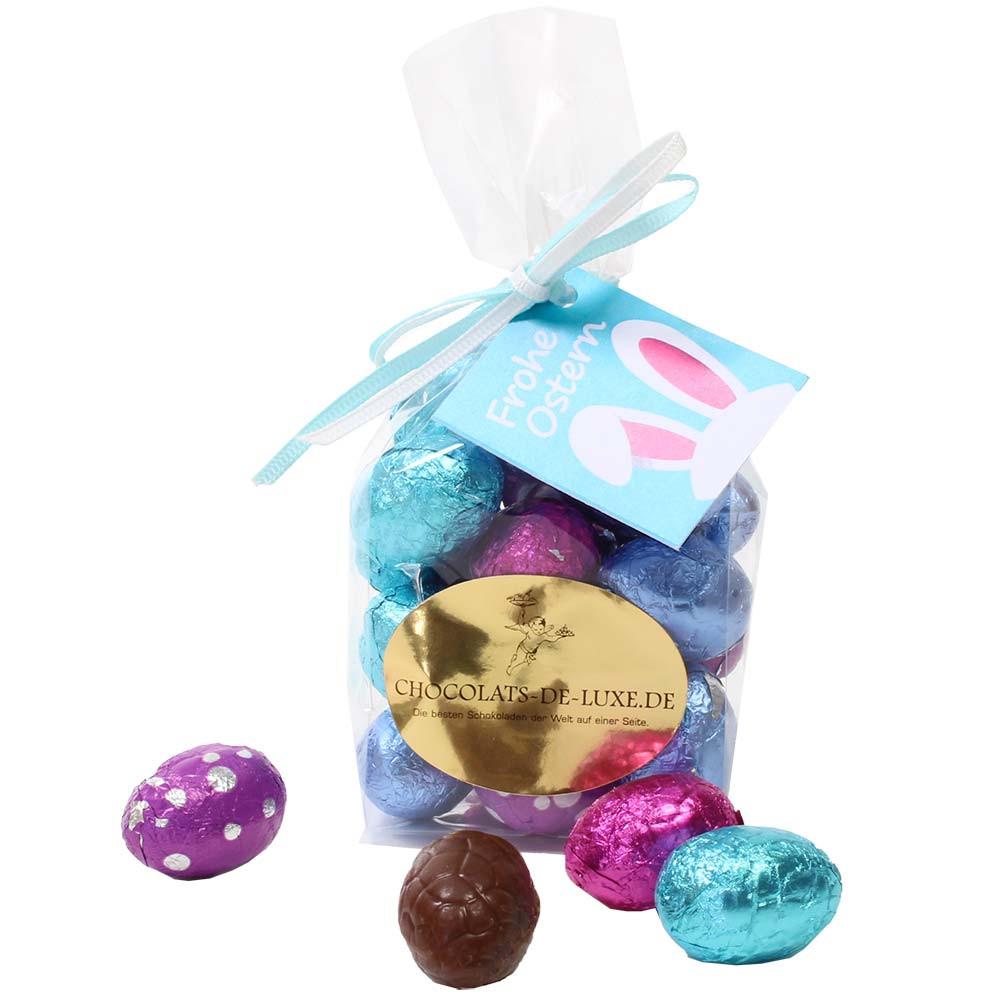 Quartetto di uova di Pasqua al cioccolato - 20 uova di Pasqua in un sacchetto