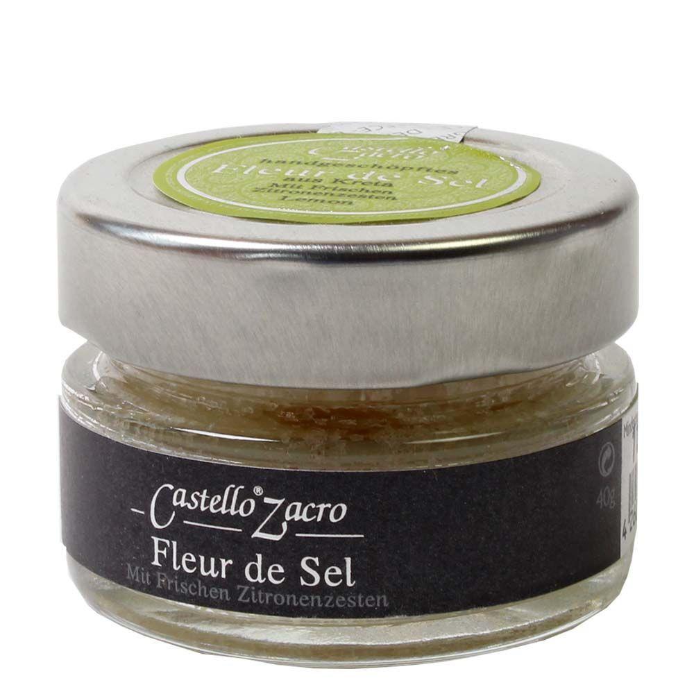 Castello Zacro Fleur de Sel mit Zitronenzesten