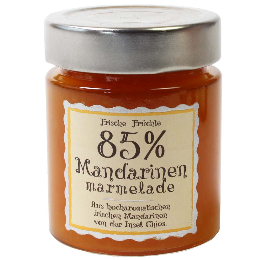 Mandarin jam 85% fruit content