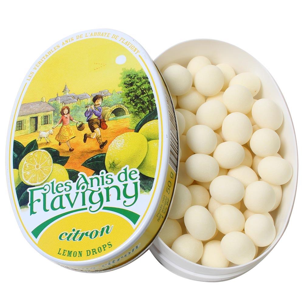 Bonbons Zitrone - Anisbonbons mit Zitrone -  - Chocolats-De-Luxe