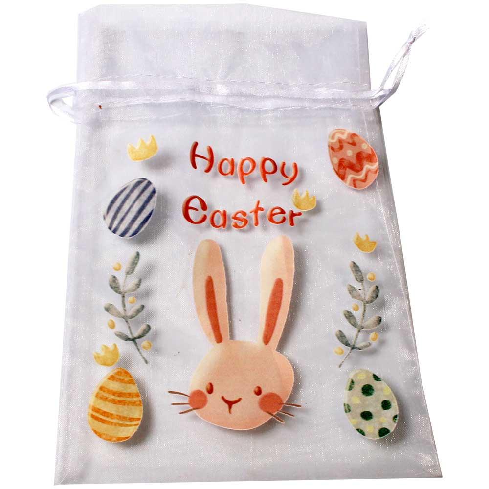 Organzabeutel Happy Easter -  - Chocolats-De-Luxe