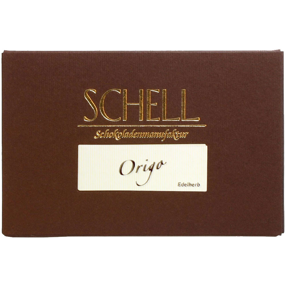 Origo - Bar of Chocolate, Germany, german chocolate, Chocolate with sugar - Chocolats-De-Luxe