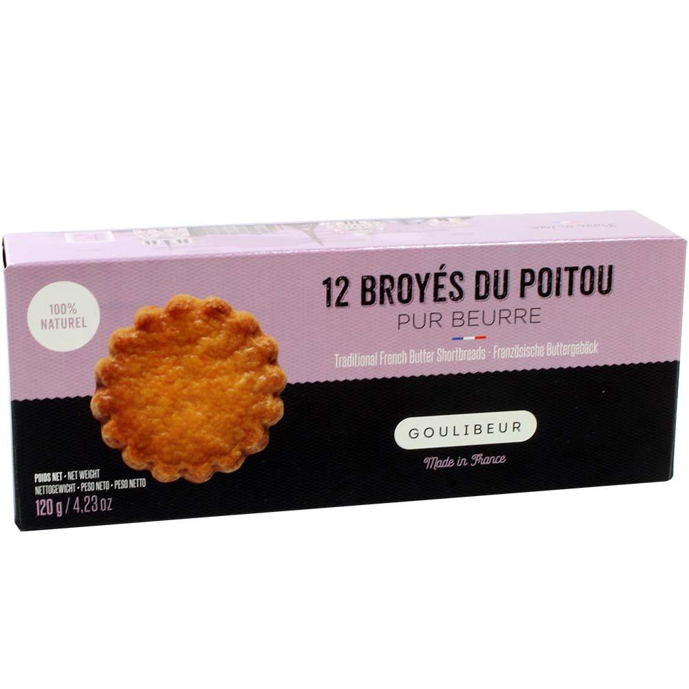 12 Broyés du Poitou pur Beurre -  - Chocolats-De-Luxe