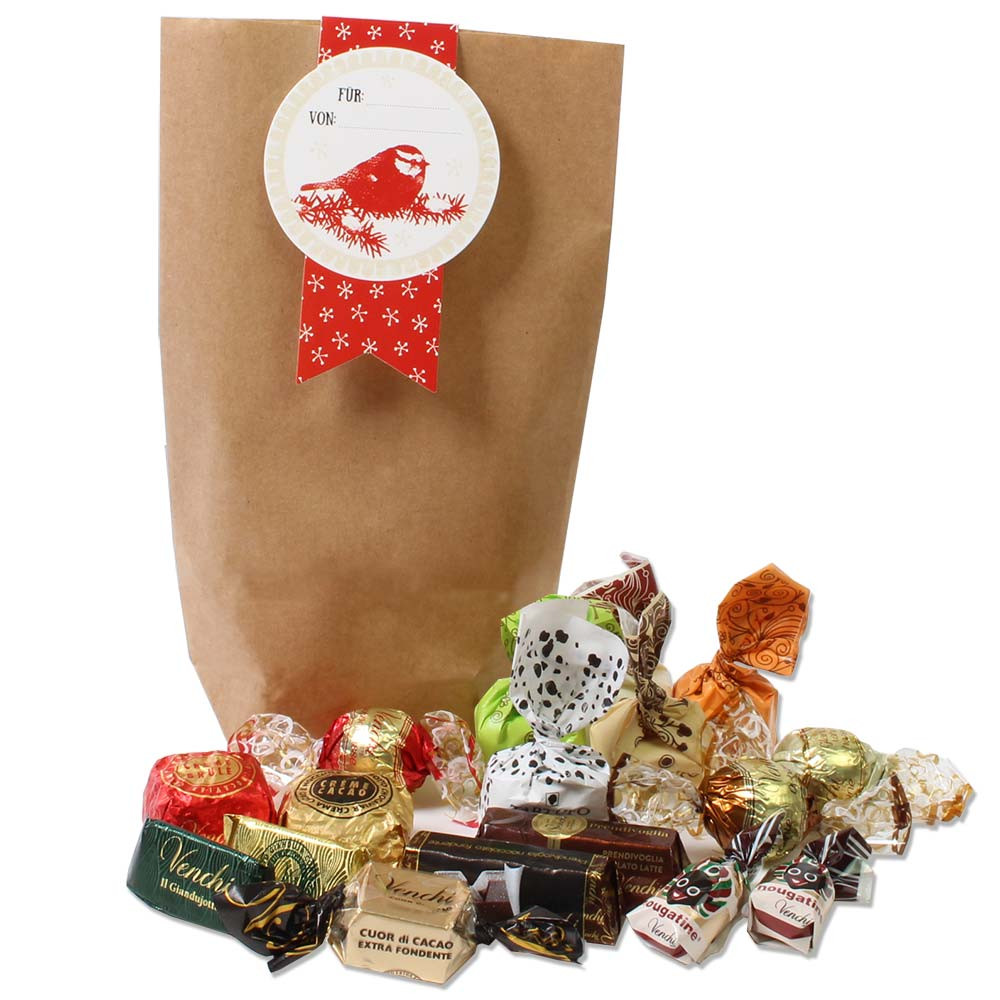 Gift bag filled by ... For - $seoKeywords- Chocolats-De-Luxe