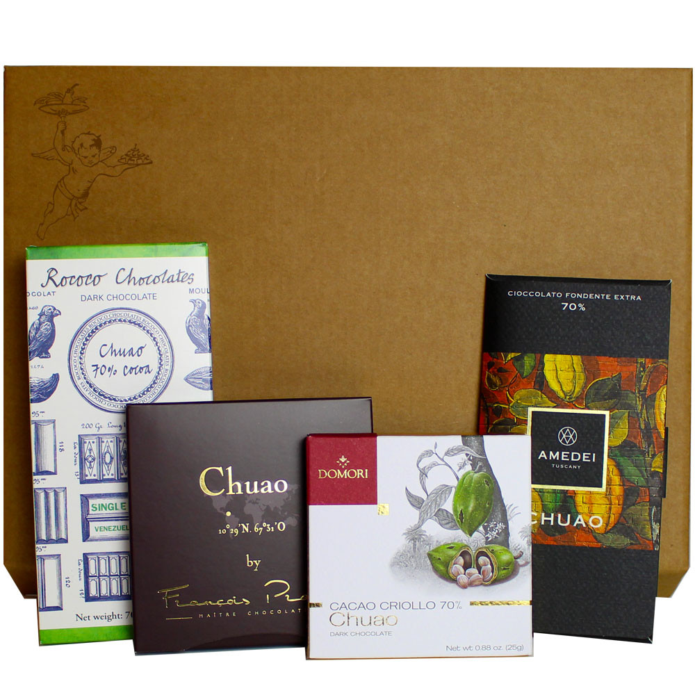 dark chocolate, chocolat noir, dunkle Schokolade, Chuao, Venezuela, Domori, Pralus, Amedei, Rococo, single origin chocolate, Herkunftsschokolade                                                         -  - Chocolats-De-Luxe