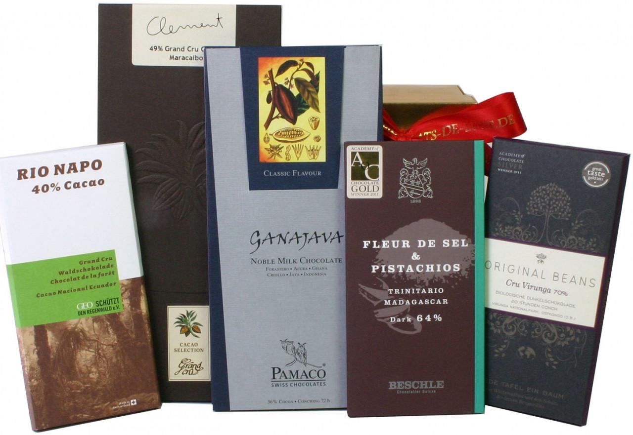 Schweizer Schokolade, dunkle Schokolade, Vollmilchschokolade, milk chocolate, dark chocolate, Swiss Chocolate,                                                                                           -  - Chocolats-De-Luxe