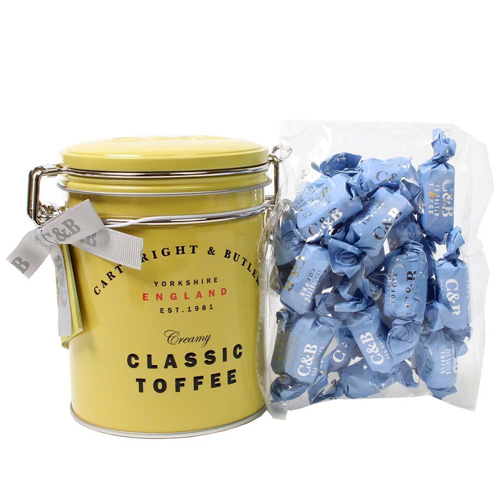 Toffees au caramel salé