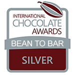 Bean-To-Bar Zilver - Intern. Chocolate Awards