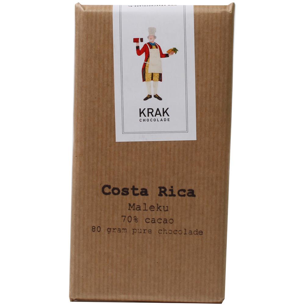 70% Costa Rica Maleku Dark Chocolate