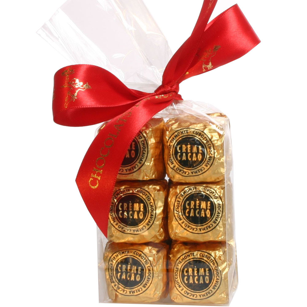 Haselnuss, hazelnuts, noisettes, truffes, truffels, bonbon au chocolat, Kaviar aus Schokolade, gefüllte Praline, - Pralines, Chocolat sans alcool, chocolat sans gluten, Italie, chocolat italien, Chocolat à la noisette - Chocolats-De-Luxe