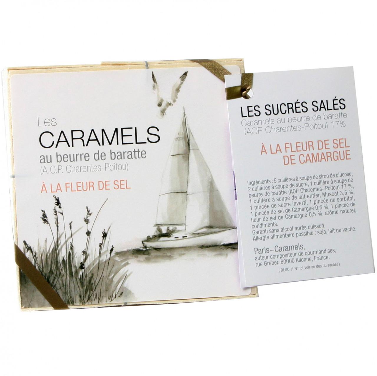 Karamellbonbon, Frankreich, Guérande Salz, salted caramels, gesalzene Karamellen, gesalzene Karamellbonbons -  - Chocolats-De-Luxe