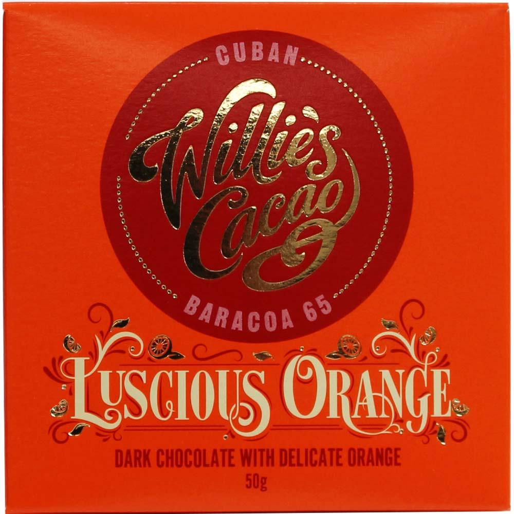 Luscious Orange Cuban Baracoa 65% cioccolato fondente