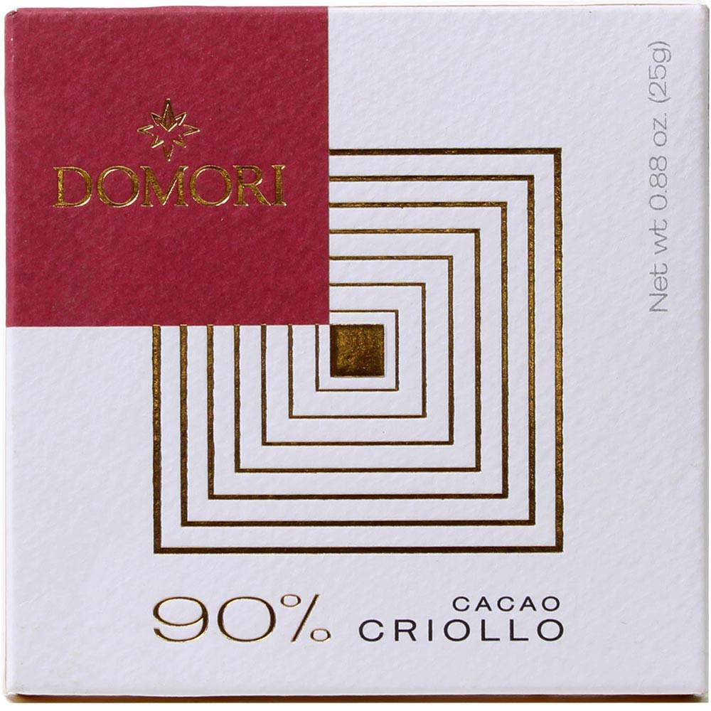 90% Crollo Cacao 25 g -  - Chocolats-De-Luxe