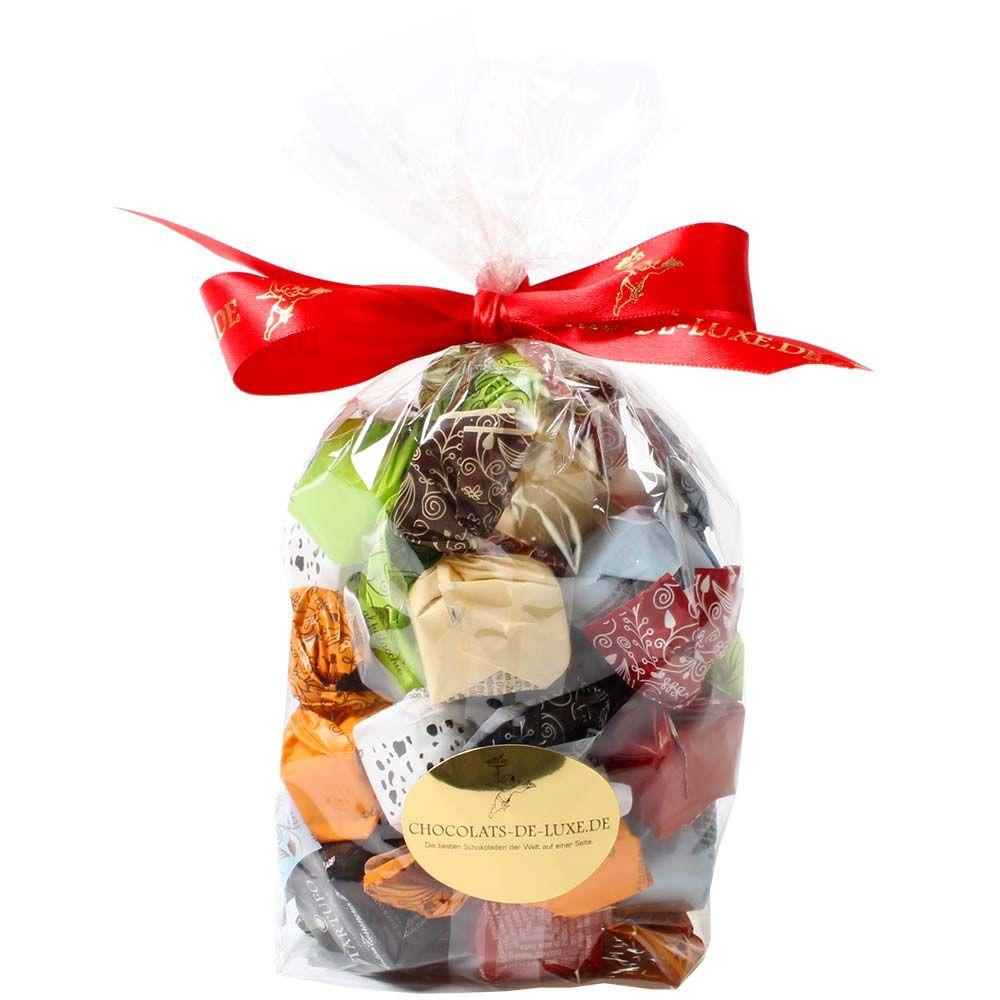 Bag with 3 x 8 types of Tartufi - Truffle, Italy, italian chocolate, chocolate with hazelnut, hazelnut chocolate - Chocolats-De-Luxe
