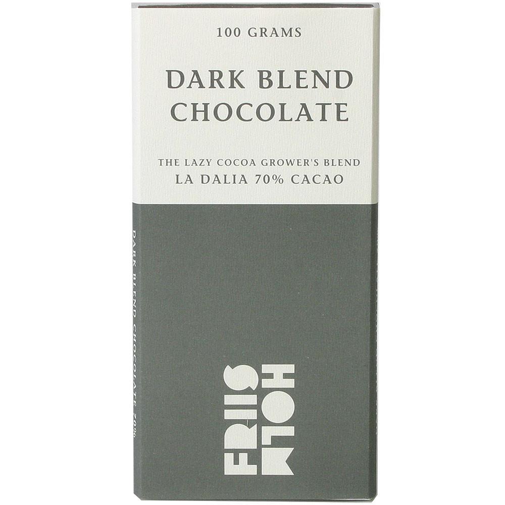 dark chocolate, chocolat noir, dunkle Schokolade                                                                                                                                                         - Tablette de chocolat, chocolat sans gluten, chocolat sans lactose, chocolat sans soja, chocolat végétalien, Danemark, chocolat danois - Chocolats-De-Luxe