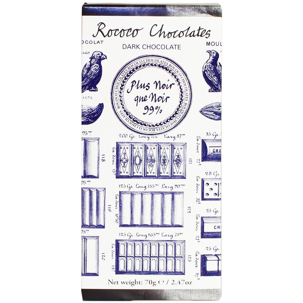 Kakaomasse, pure cocoa, cacao, Bioschokolade, London, England, Rococo, Lavendel, dark chocolate, chocolat noir,                                                                                          - Barras de chocolate, Gran Bretaña, chocolate británico - Chocolats-De-Luxe