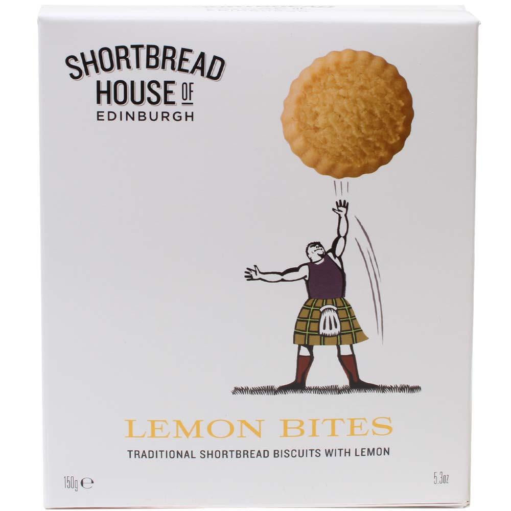 Lemon Bites - Frollini al limone dalla Scozia -  - Chocolats-De-Luxe