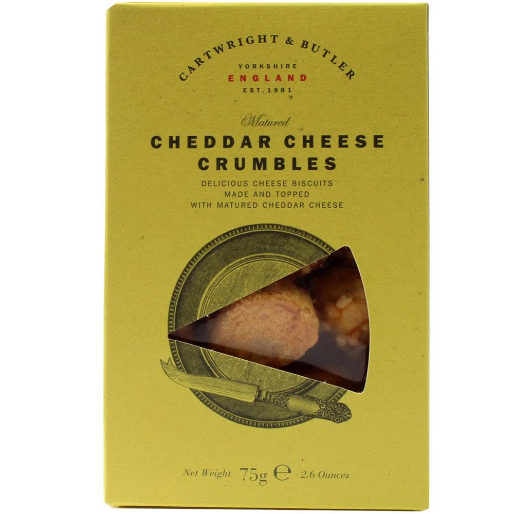 Crumbles au fromage cheddar -  - Chocolats-De-Luxe