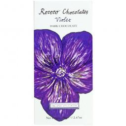 Blumenschokolade - Violet 65% - dunkle Schokolade mit Veilchen