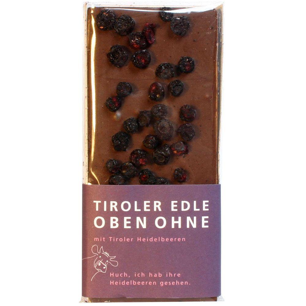 48% Oben Ohne Heidelbeeren -  - Chocolats-De-Luxe