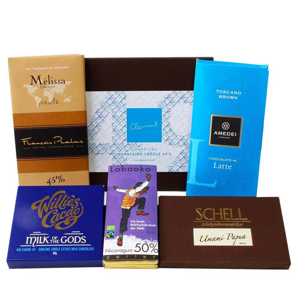Milchschokolade, milk chocolate, chocolat au lait, -  - Chocolats-De-Luxe
