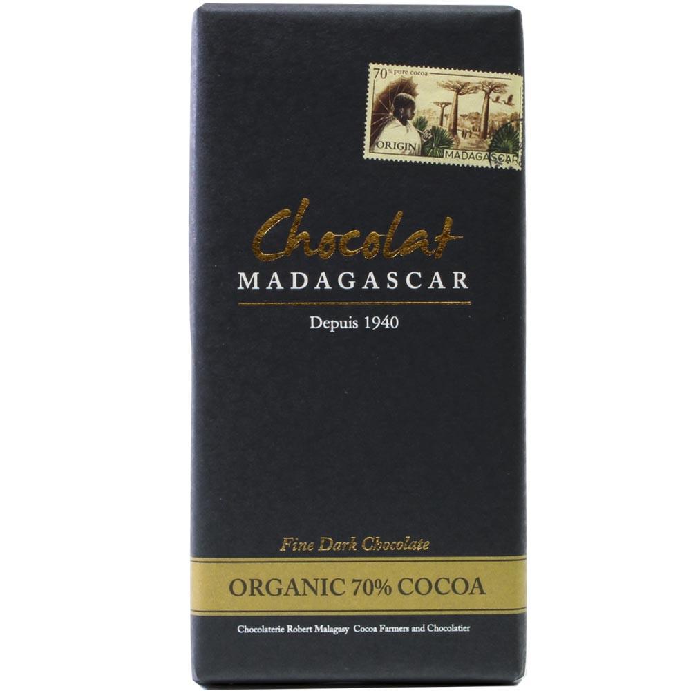 Madagaskar, dunkle Schokolade 100%, Bio - Tablette de chocolat, chocolat sans gluten, chocolat sans lactose, chocolat végétalien, convient aux végétariens, Madagascar, chocolat malgache - Chocolats-De-Luxe
