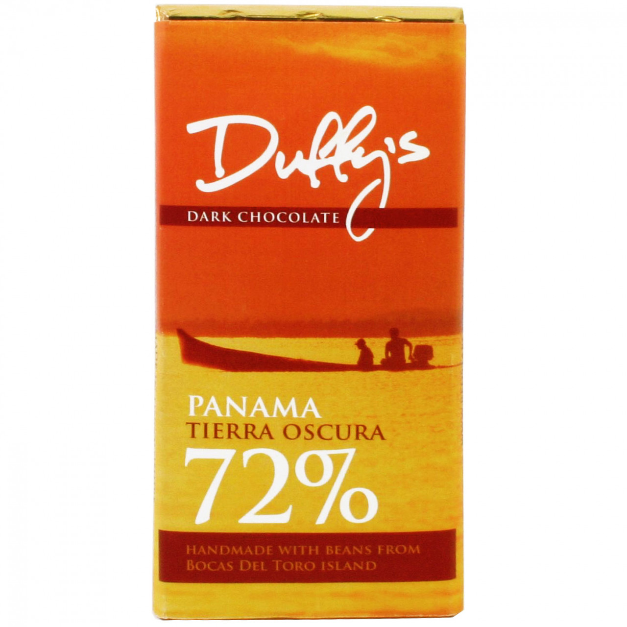 Panama Tierra Oscura 72% dunkle Schokolade von Duffy's Chocolatedunkle Schokolade, Zartbitterschokolade, Schokolade aus Pananma, sojafrei, glutenfrei, dark chocolate, chocolat noir, Panama, Duffys,