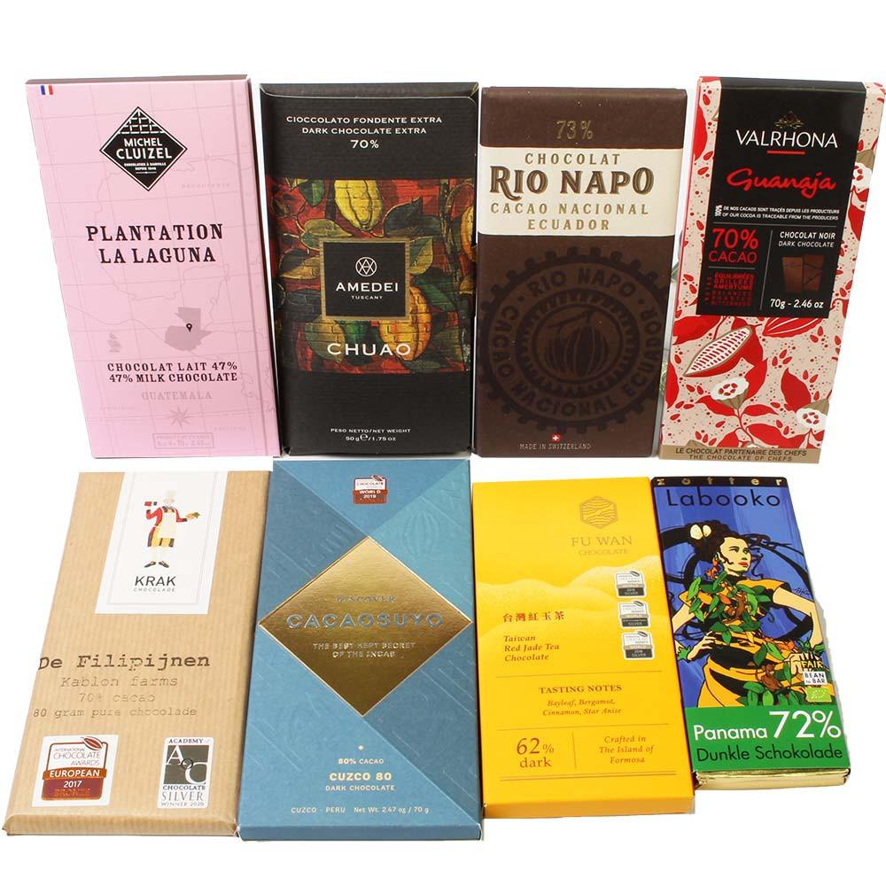 Le tour du monde avec du chocolat -  - Chocolats-De-Luxe