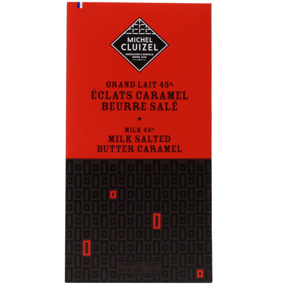 45% Grand Milk Caramel Salted Butter Schokolade - $seoKeywords- Chocolats-De-Luxe