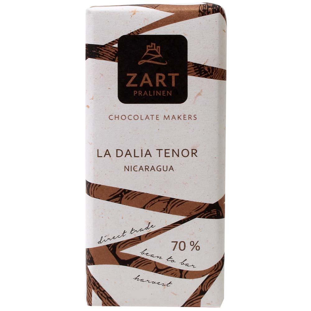 70% chocolate La Dalia Tenor Nicaragua - Barras de chocolate, Austria, chocolate austriaco, Chocolate con azúcar - Chocolats-De-Luxe