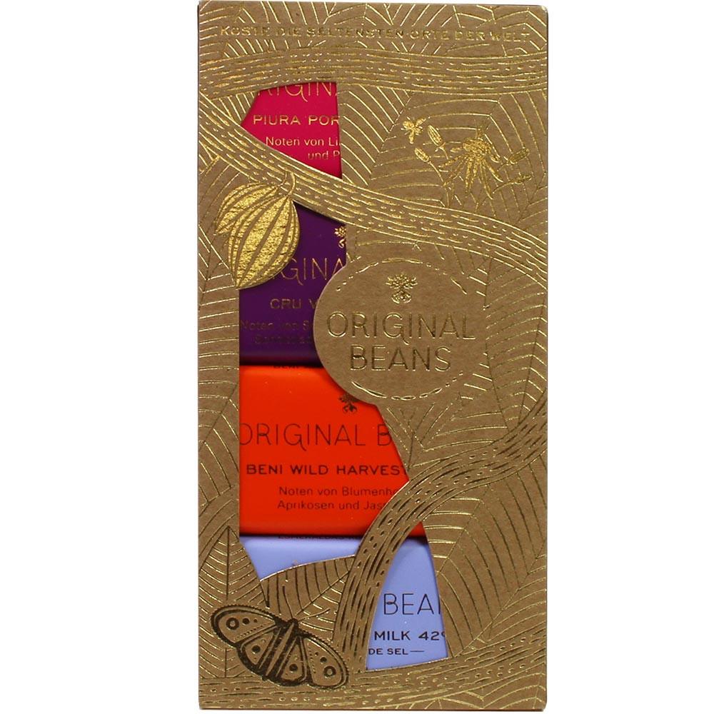 Tablette de chocolat collection des meilleurs chocolats biologiques du monde