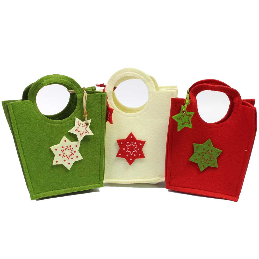 Weihnachtstasche mit Stern -  - Chocolats-De-Luxe