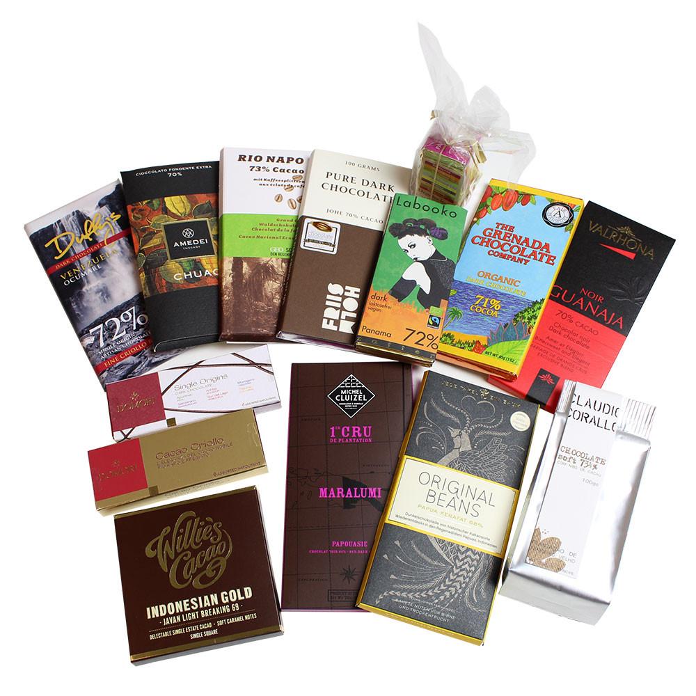 Schokolade, dunkle Schokolade, Edelschokolade, Herkunftsschokolade, single orgin chocolate, Chocolatier, -  - Chocolats-De-Luxe