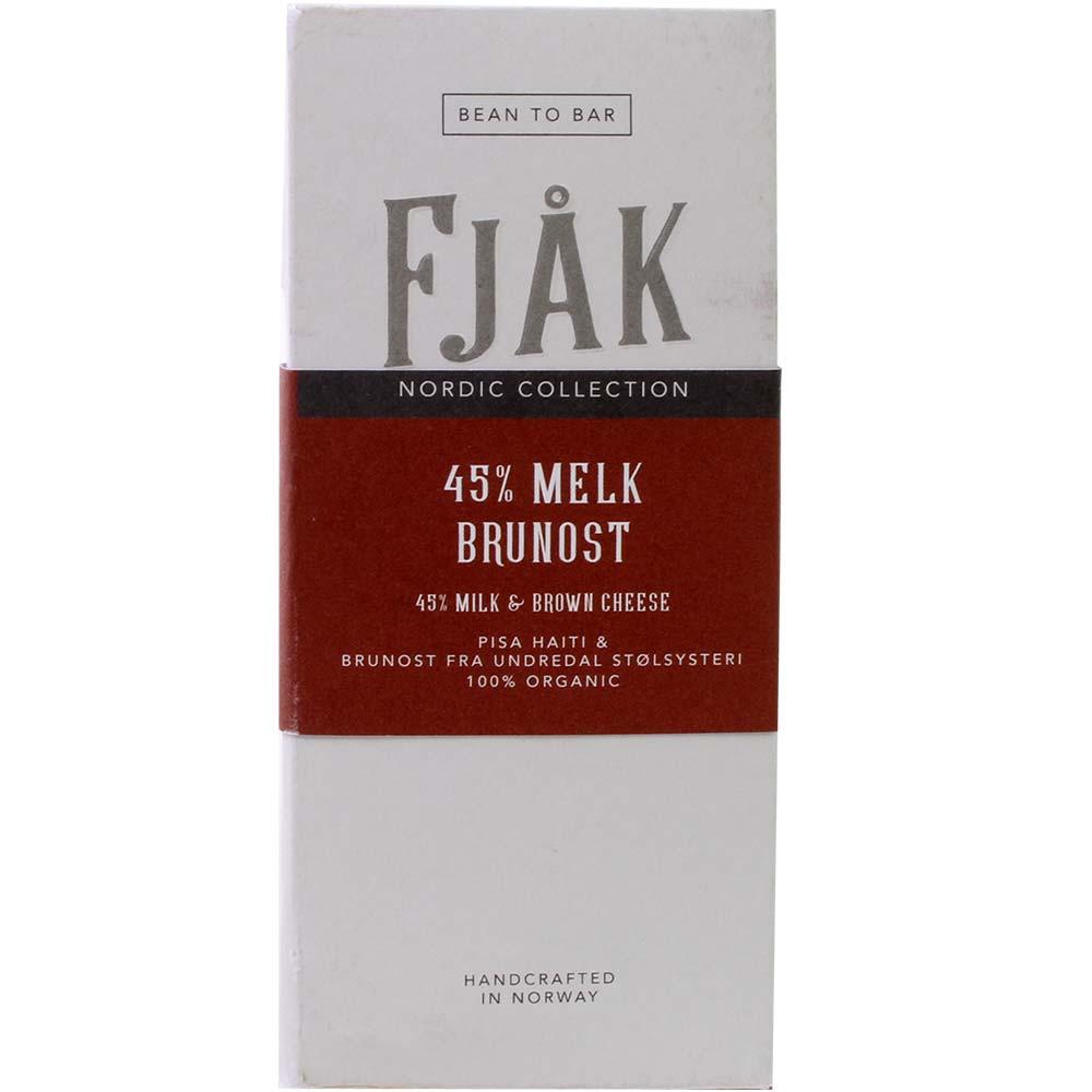 45% Milchschokolade mit Braunkäse - 45% Melk Brunost