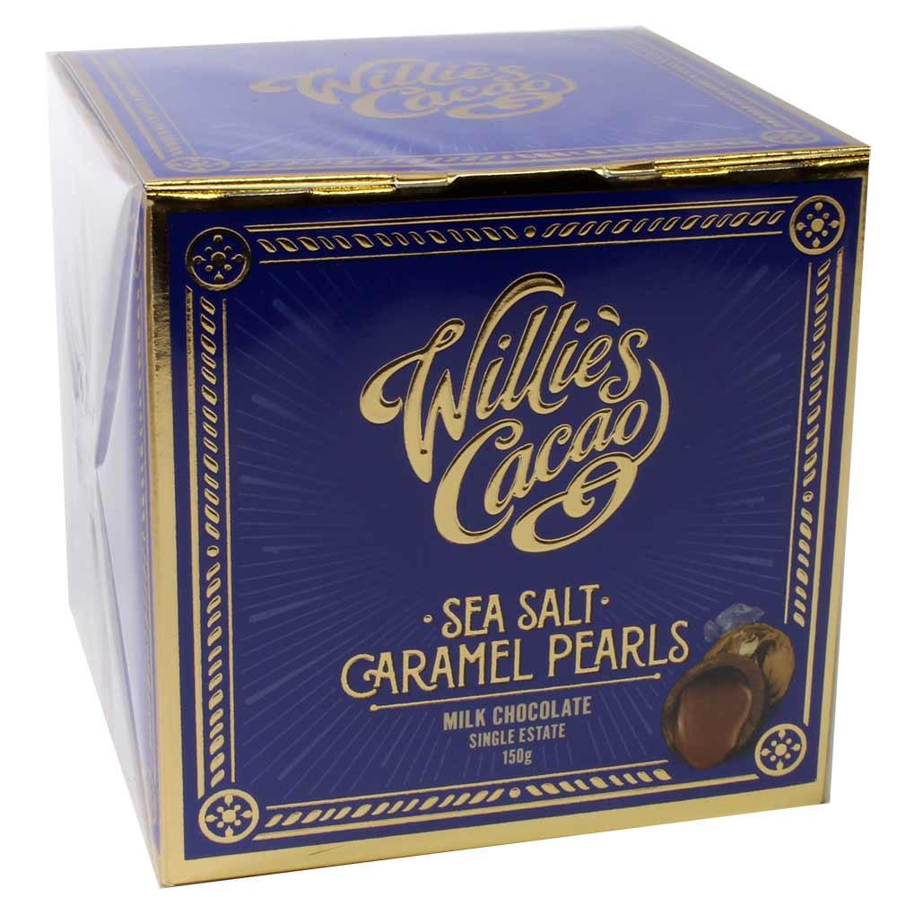 Sea Salt Caramel Pearls - Parels met gezouten karamel in melk chocolade - Chocolade, Engeland, engelse chocolade, Chocolade met gezouten karamel - Chocolats-De-Luxe
