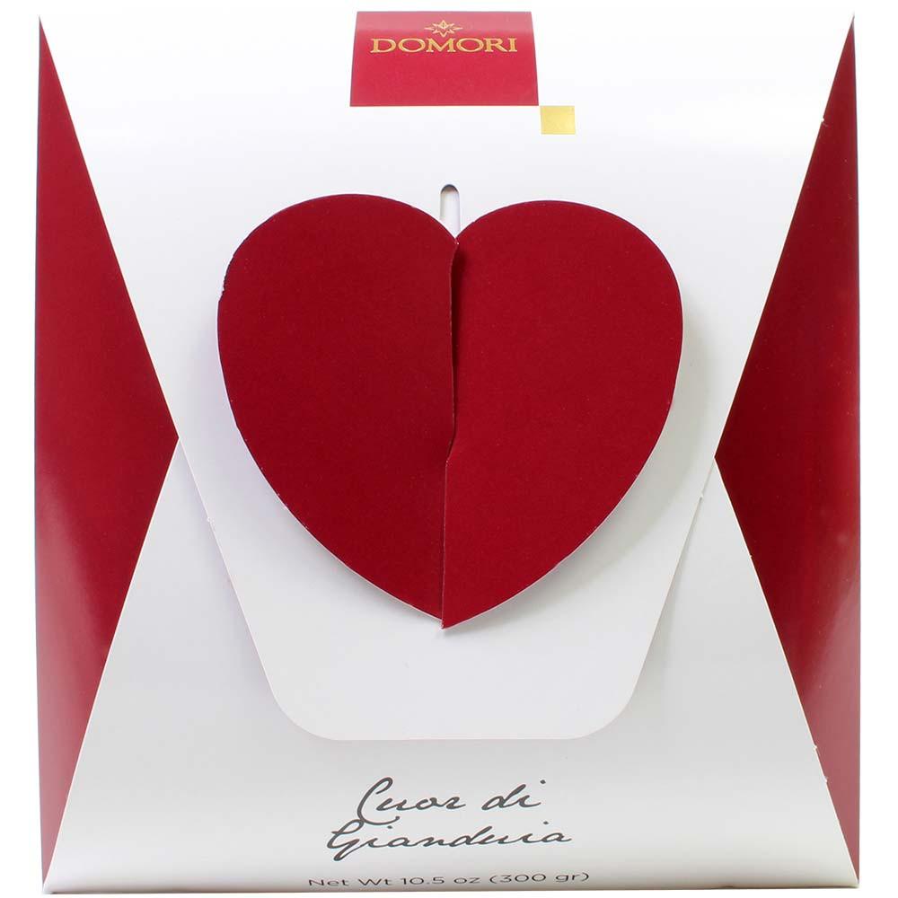 Heart of Gianduja - Riesenherz from Gianduja Nougat 300g -  - Chocolats-De-Luxe