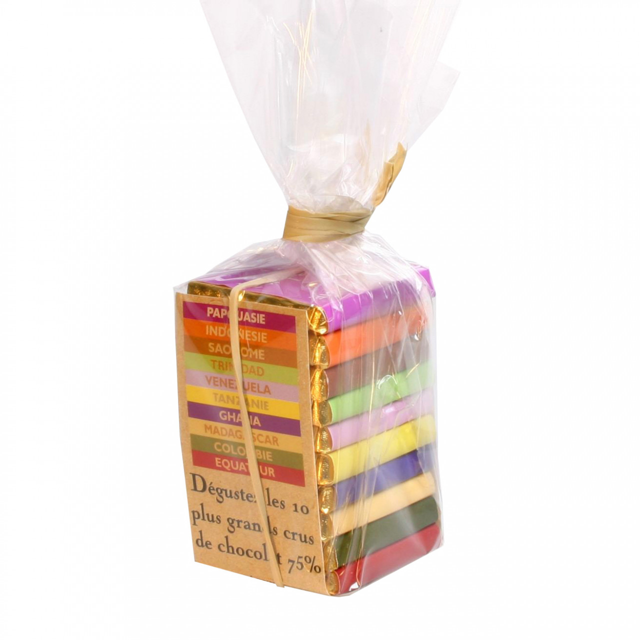 Dunkle Schokolade, Pyramide Pralus, dark chocolate, chocolat noir,                                                                                                                                       - Napolitains, Chocolate Squares, France, french chocolate, Chocolate with sugar - Chocolats-De-Luxe