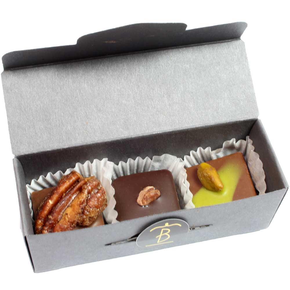 Schoko-Festival Tasting Box - vegane Pralinen - Germany, german chocolate - Chocolats-De-Luxe