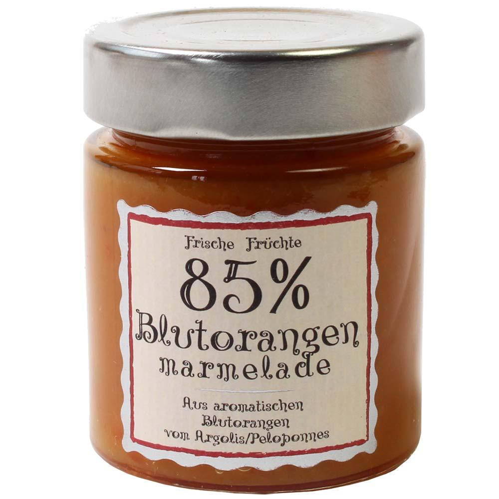 Confiture d'orange sanguine 85% de fruits -  - Chocolats-De-Luxe