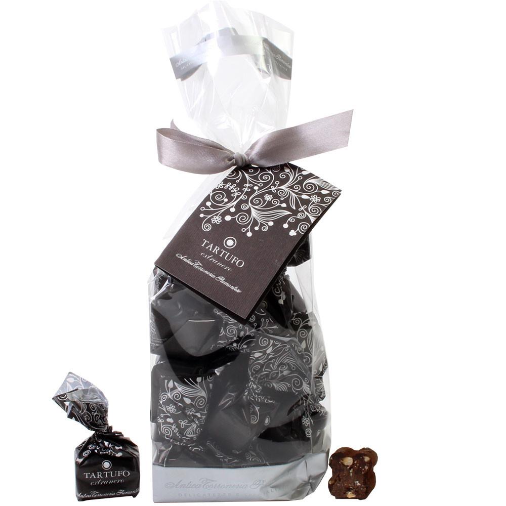 Antica Torroneria Piemontese, Tartufo, nocciole, Piemonte, Nuss, IGP Haselnuss, Sweet Fingerfood - Tartufo, Cioccolato senza alcol, cioccolato senza glutine, Italia, cioccolato italiano, Cioccolato con nocciola - Chocolats-De-Luxe