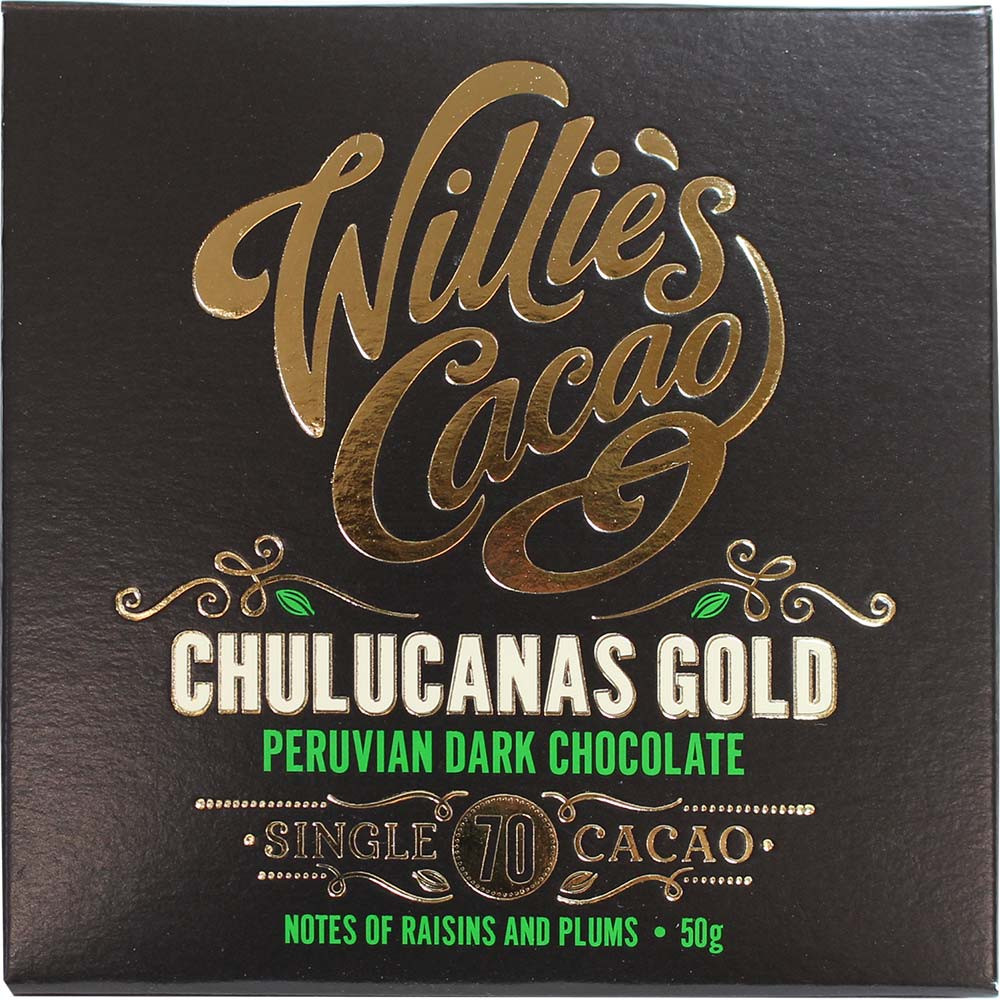 Chulucanas Gold - dark chocolate from Peru