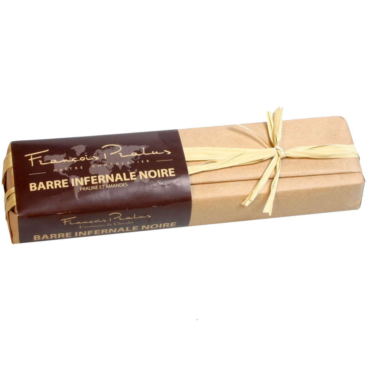 Sao Tomé, gefüllte dunkle Schokolade, dark chocolate, chocolat noir, almonds, amandes, filled chocolate,