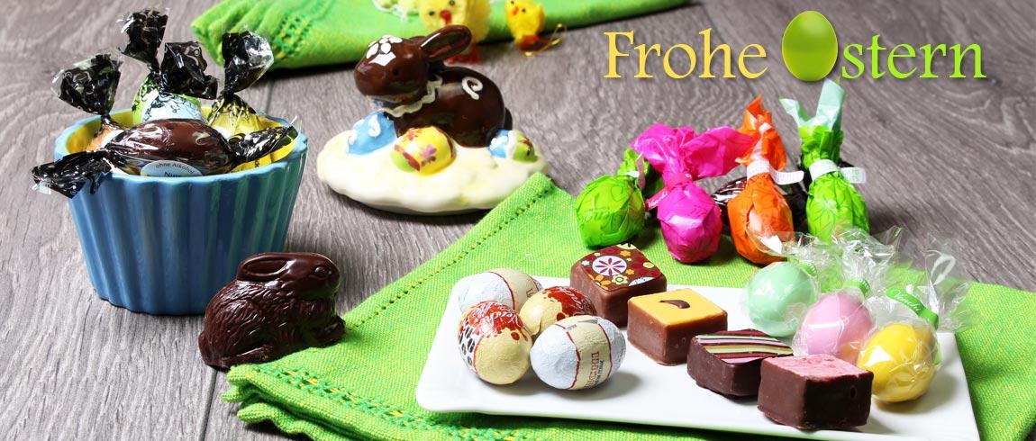 Frohe Ostern mit Chocolats-de-luxe.de