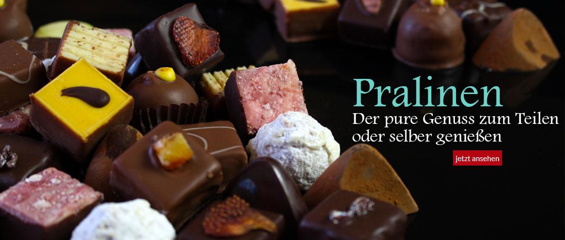 Pralinen - die Krönung der Schokolade