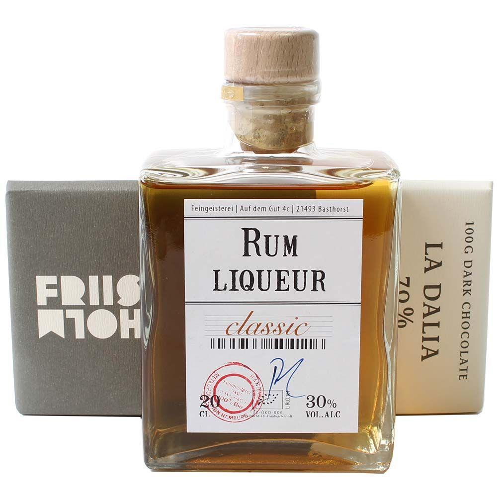 Rum Liqueur und Schokolade -  - Chocolats-De-Luxe