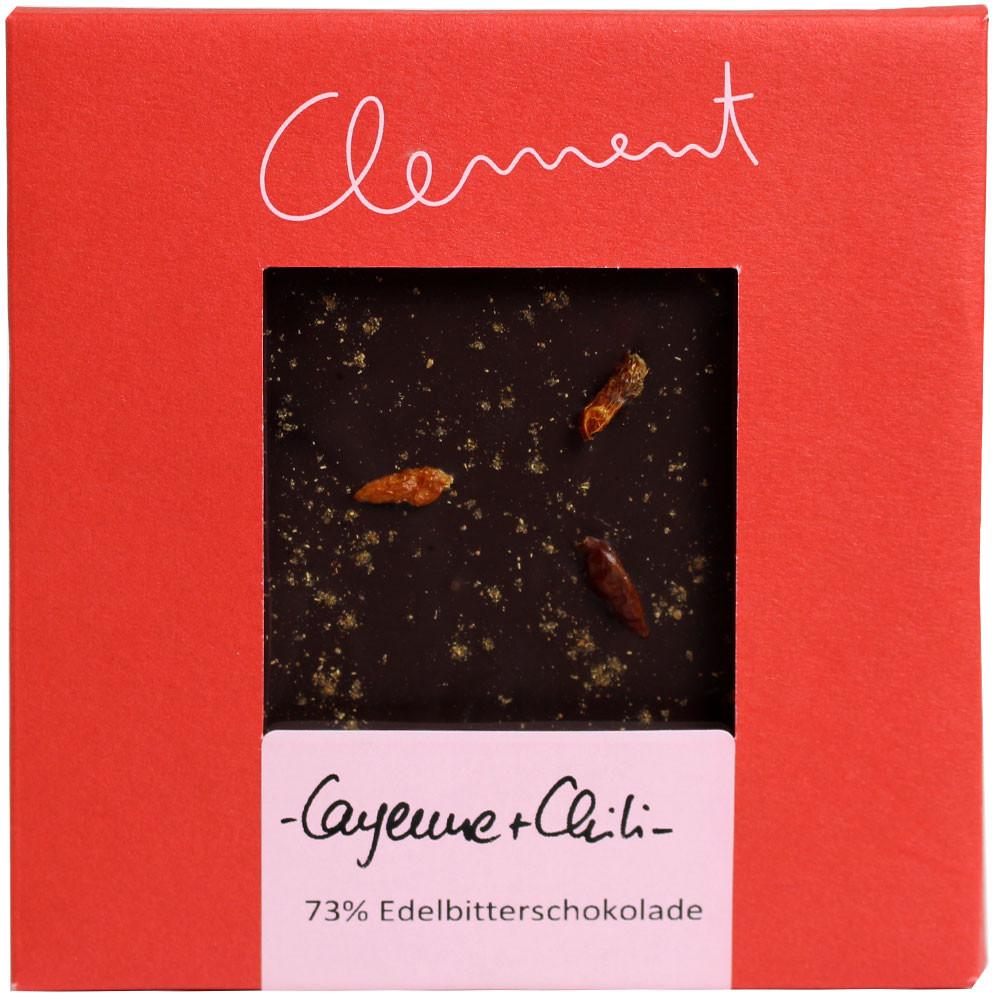 Peperoncino di Caienna 60% Sao Palmé Bitterschokolade -  - Chocolats-De-Luxe