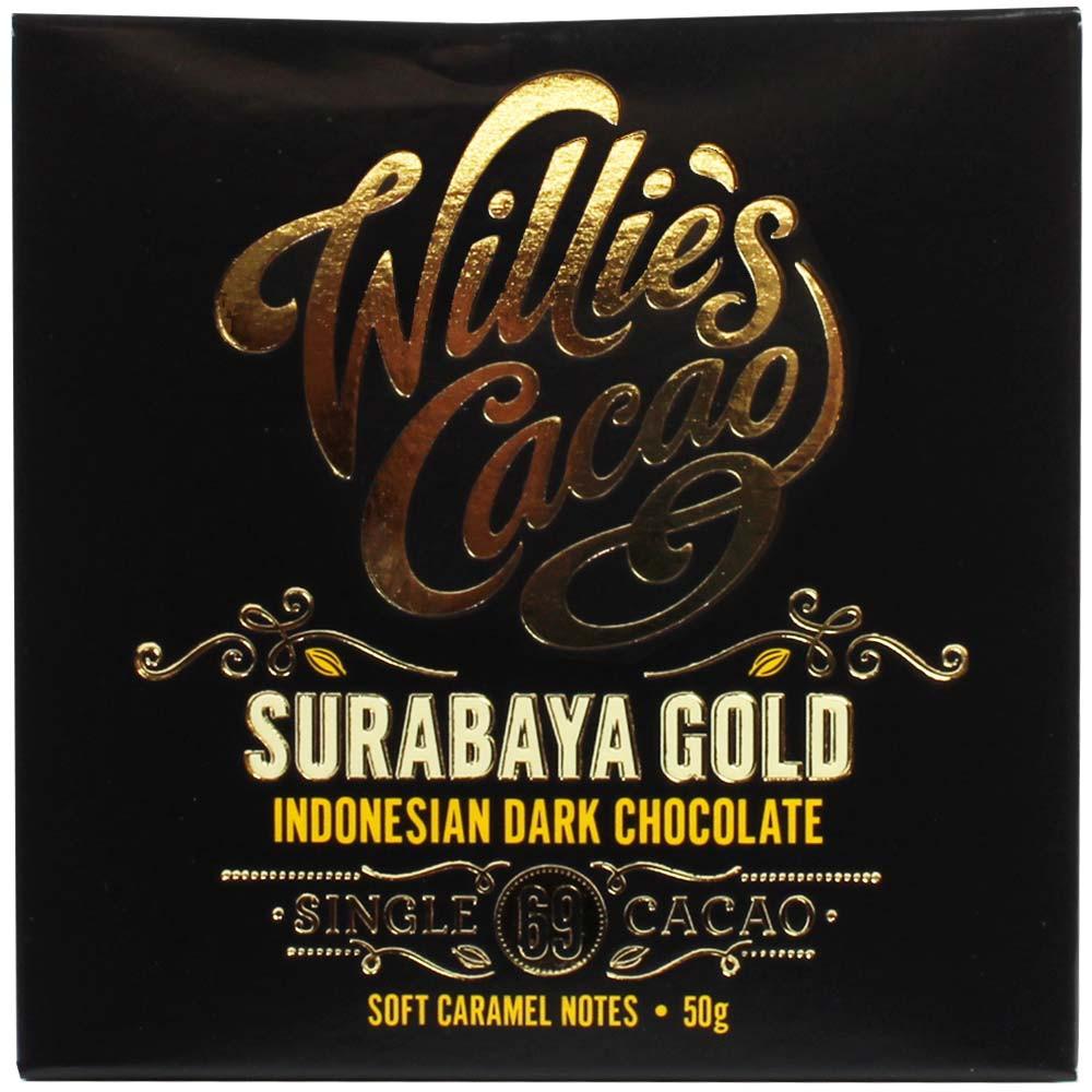 Surabaya Gold - Indonesian Dark Chocolate 69% - Bar of Chocolate, lecithin free chocolate, England, english chocolate, Chocolate with sugar - Chocolats-De-Luxe