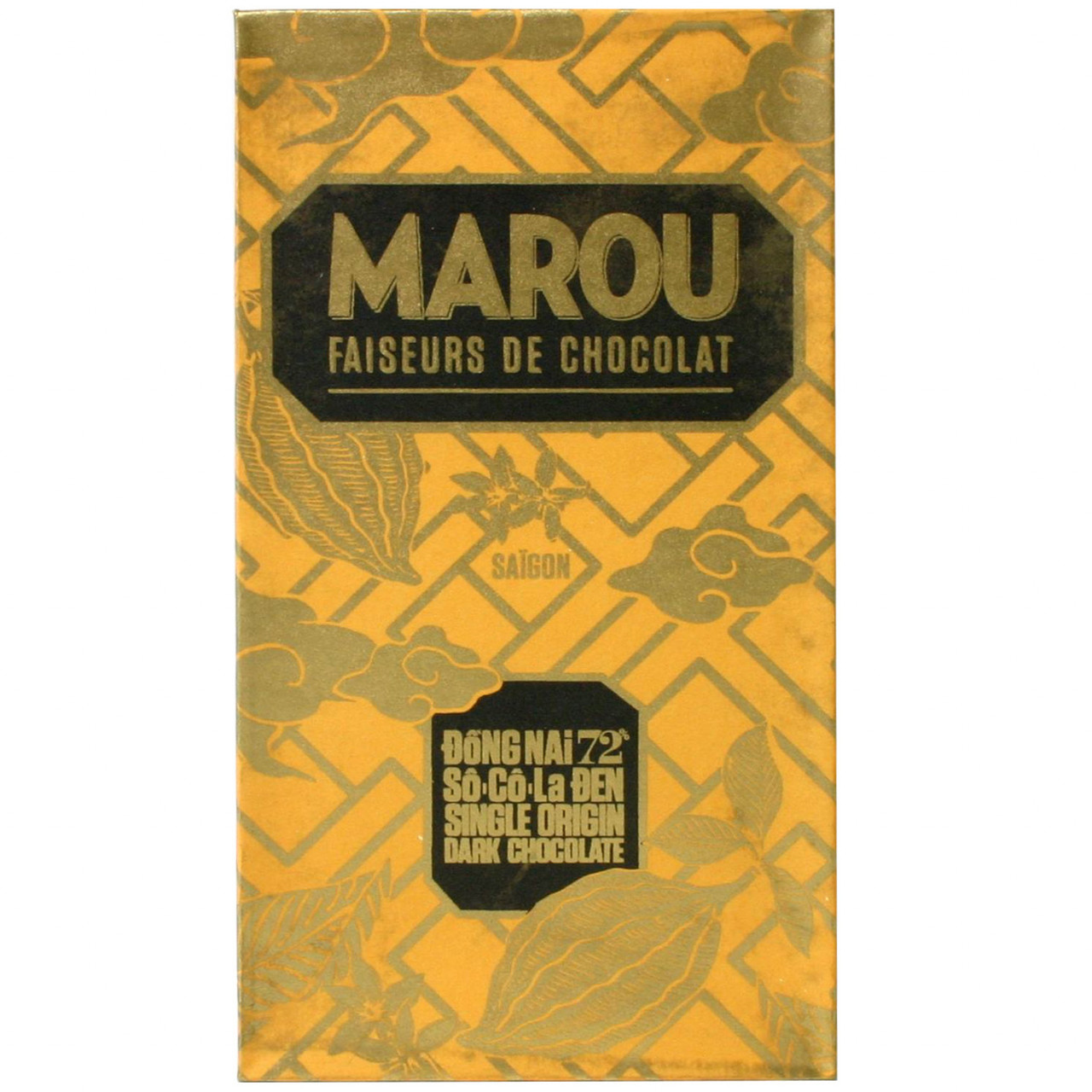 dark chocolate, dunkle Herkunftsschokolade, Vietnam, Marou, glutenfrei, sojafrei, laktosefrei