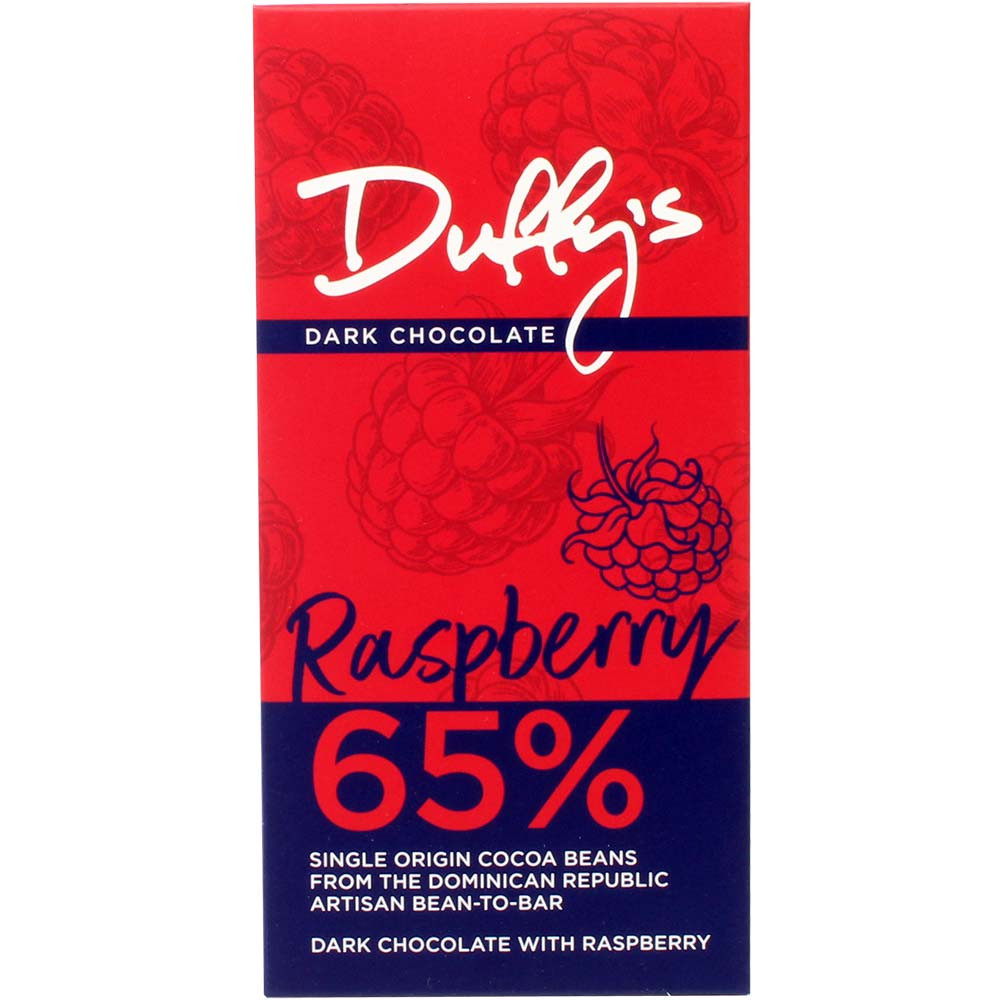 Raspberry 65% Dark Chocolate with Raspberry