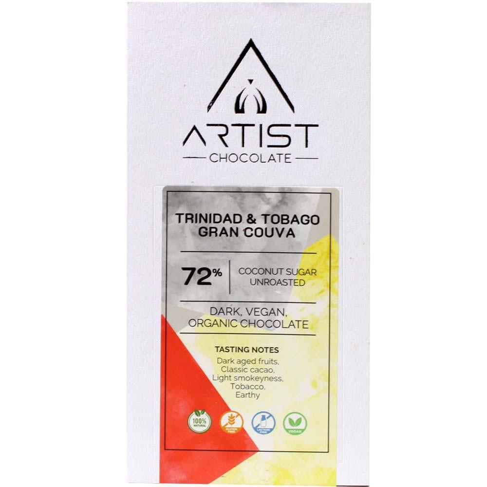 Trinidad & Tobago Gran Couva 72% vegan - $seoKeywords- Chocolats-De-Luxe